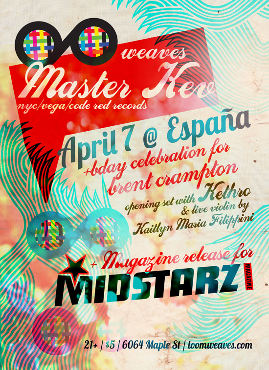 loom Weaves Issue #2 MidStarz Magazine Release Party